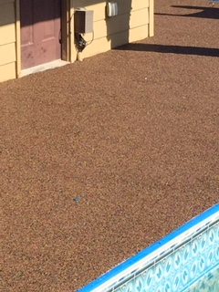 Rubber Pool Decking