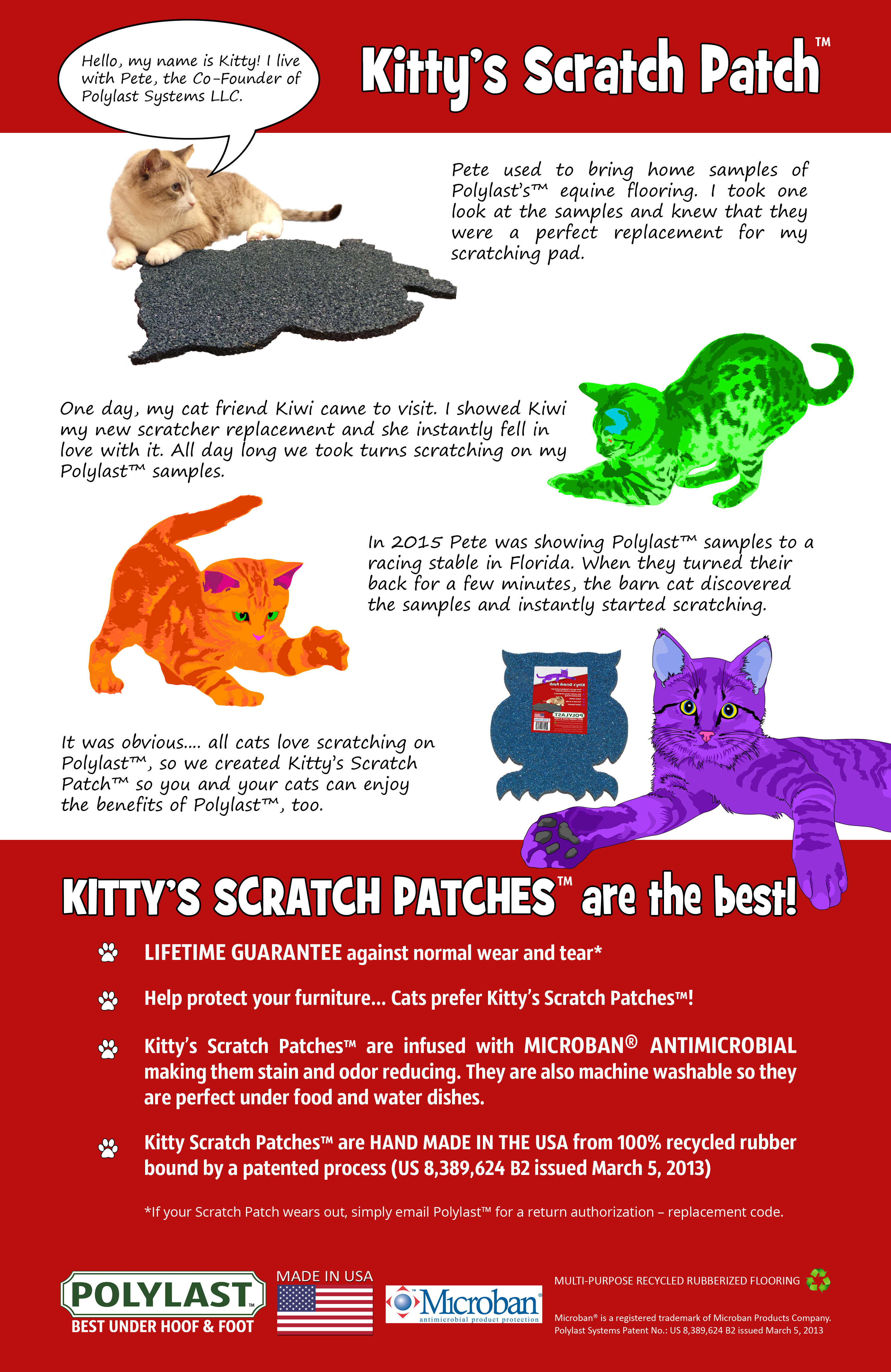 Kitty's Scratch Patch™