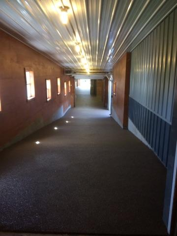 Polylast Completed Installation at Canterbury Stables