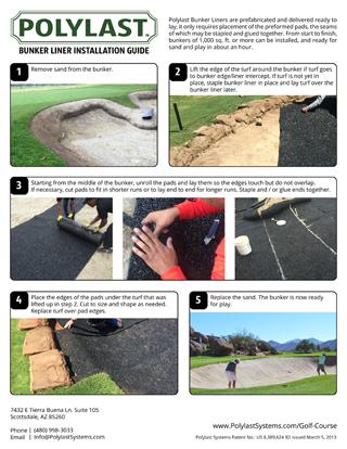 Polylast Bunker Liner Installation Guide