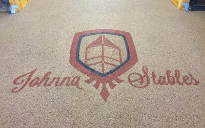 Johnna Stables Installation and Custom Logo