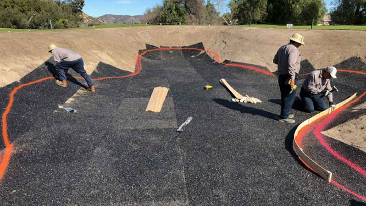 Polylast Bunker Liner Setting Edges