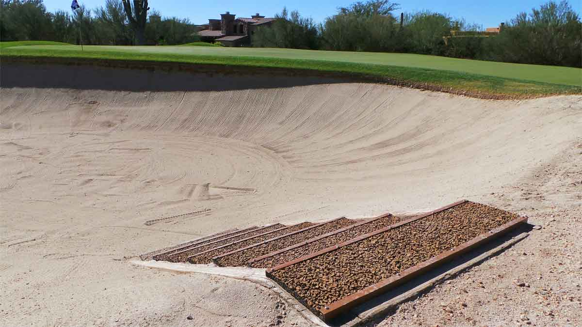 Polylast Bunker Liner Stairs 1