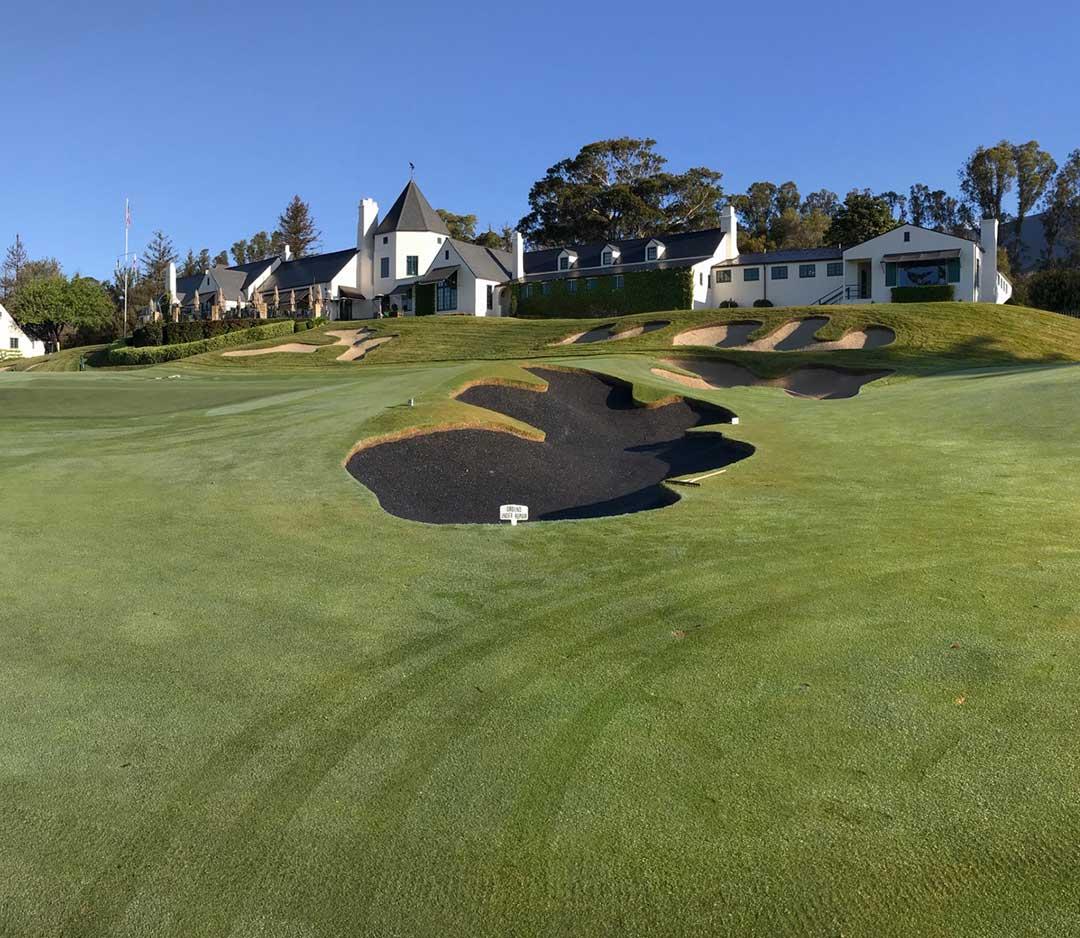 Golf Bunker Liner from Polylast